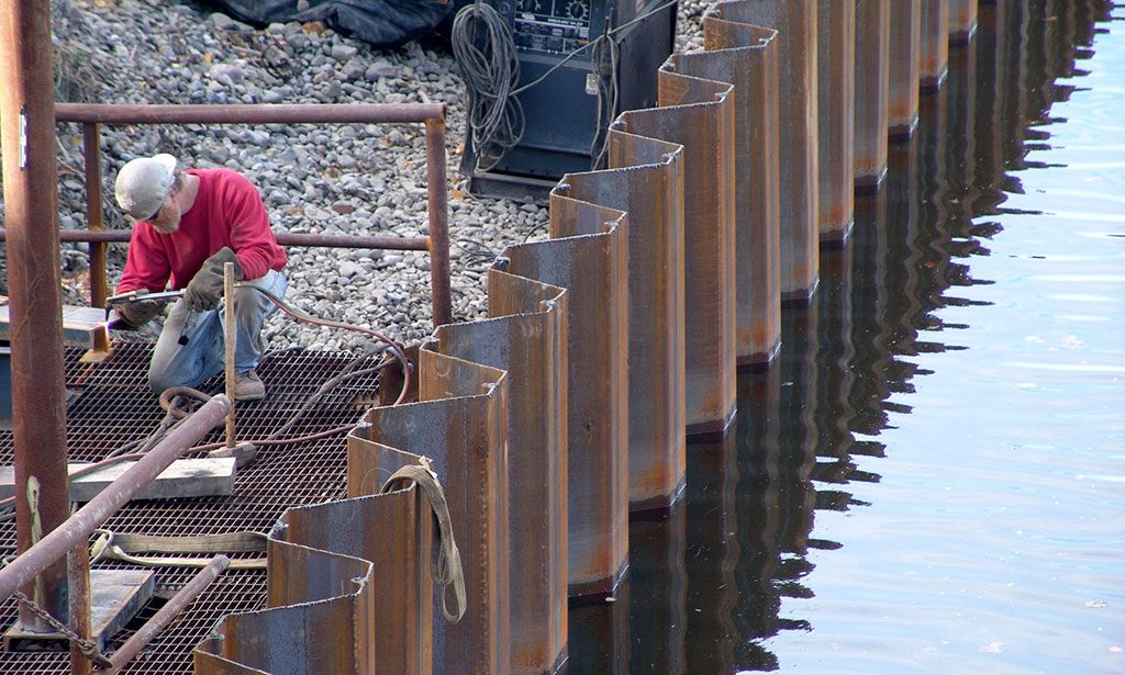 A Quick Introduction To Sheet Piling – Construction Building Blog