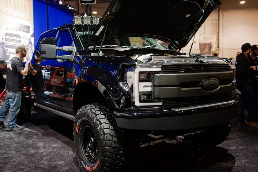 900 Hp Transformer Ford Super Duty S Liftable Fenders